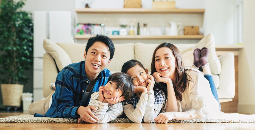 私たちの家づくりへの想い健康家族宣言