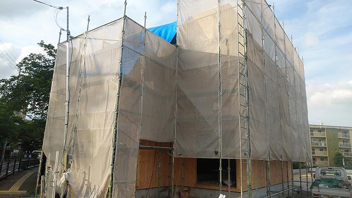 L号地モデルハウス上棟しましたのサムネイル画像