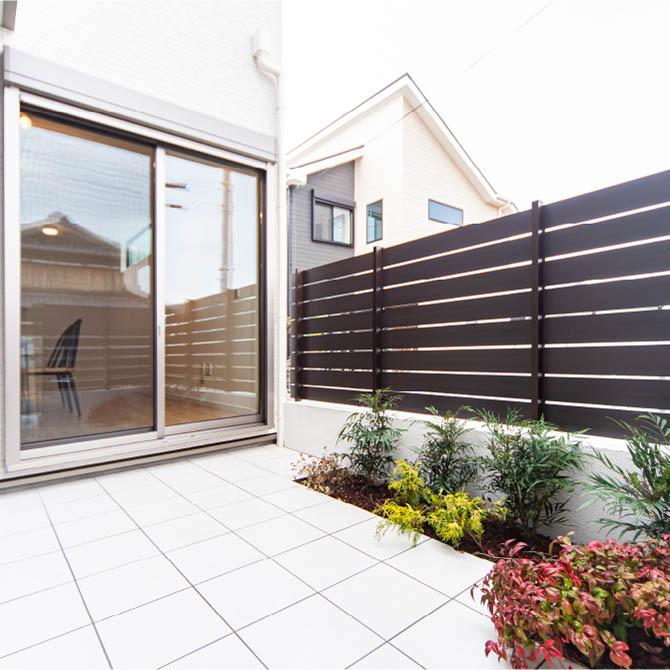 使い方色々、半屋外空間ロジアのある家のサムネイル画像
