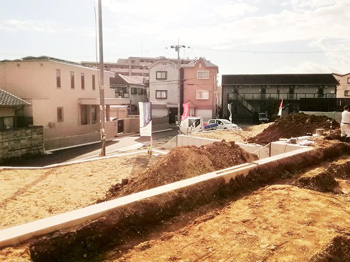 D,E号地 工事開始!のサムネイル画像
