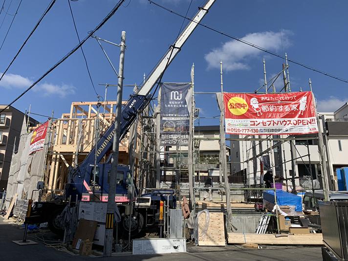 棟上げ開始のサムネイル画像